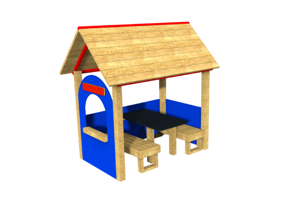Roleplay Shop with table and seating