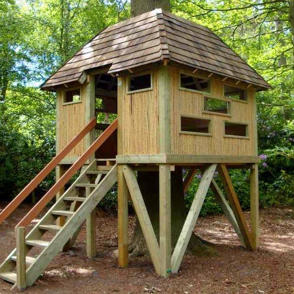 playground wildlife watching hut