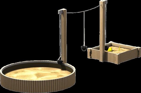 playground sand equipment