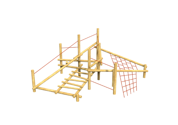 Everest Scatterlog climbing playground equipment