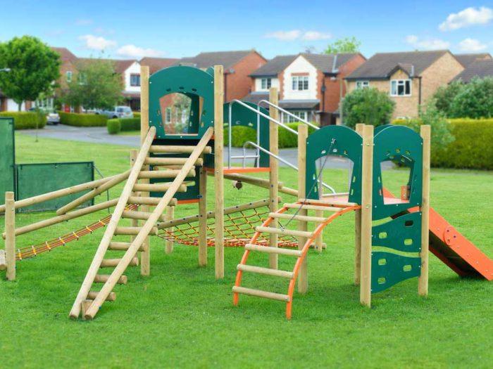 climbing play park equipment