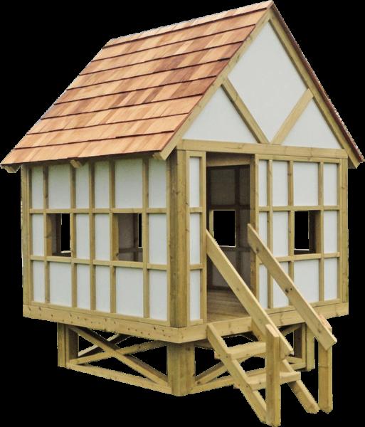 bespoke playground play hut