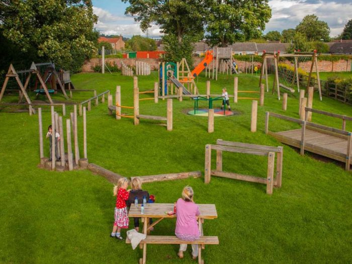 Easingwold Memorial Park outdoor playground