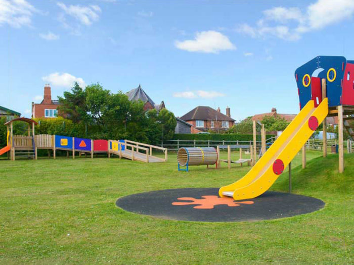 Linton-on-Ouse village hall playground