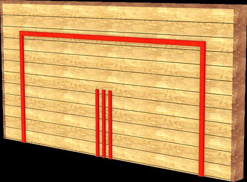 multi sports goal wall