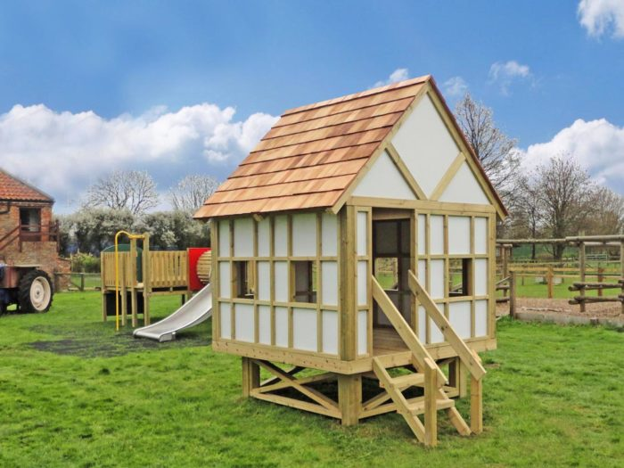 bespoke farm playground play house