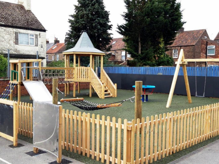 Kings Mill Primary School inclusive playground