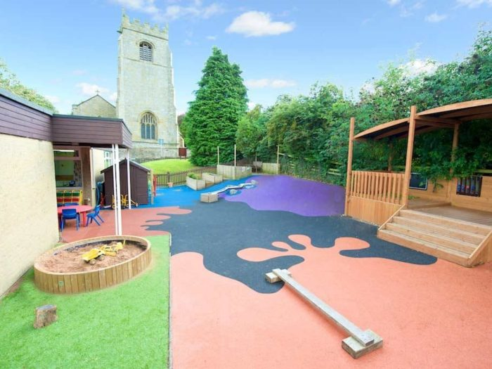 early years foundation stage school playground