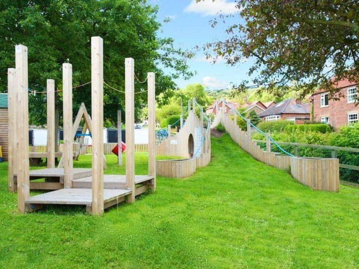 natural playground equipment