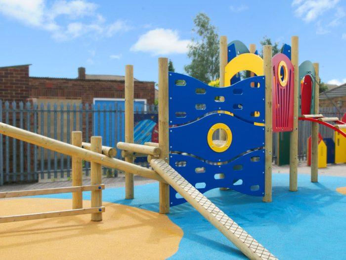 climbing playground equipment
