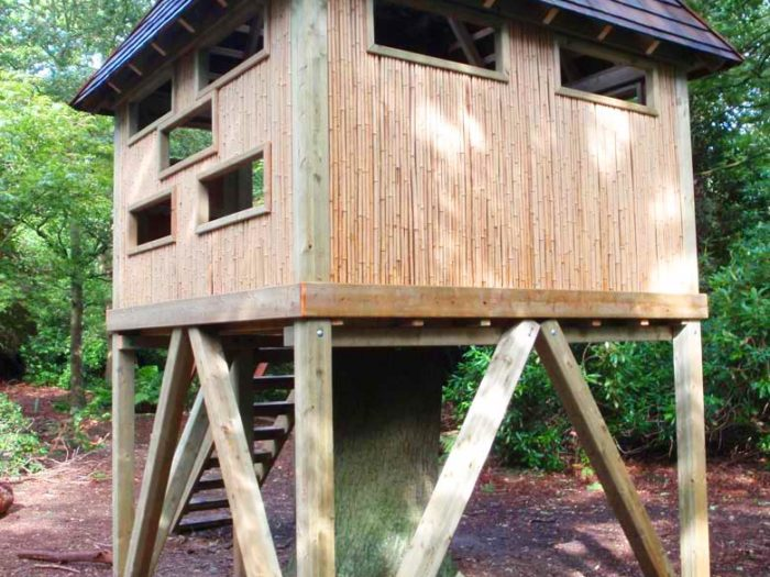 playground tree house for the Yorkshire Wildlife Trust