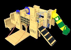 Castle, Tower System, Tube Slide
