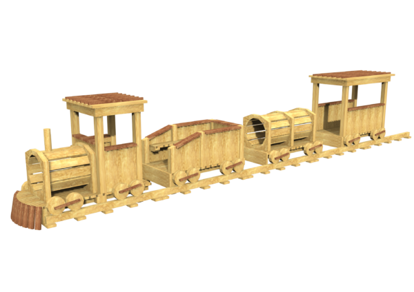bespoke timber roleplay train