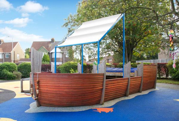 bespoke inclusive playground boat