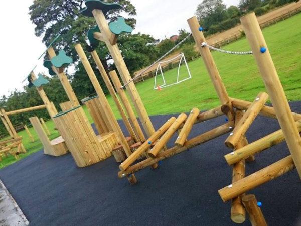 Crayke primary school playground