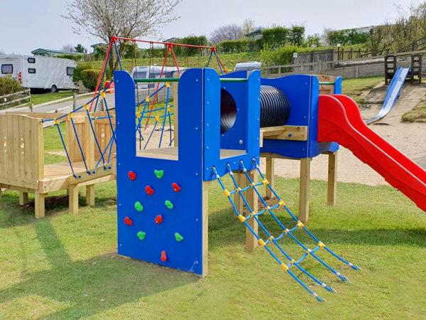 Golden Square Caravan Park playground