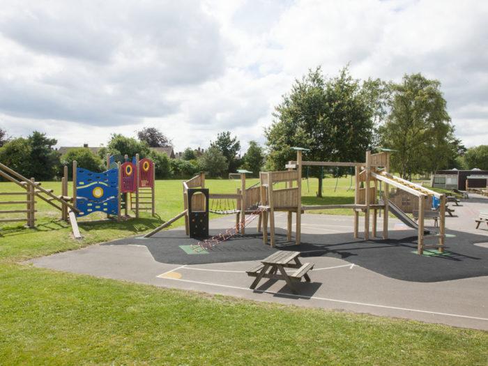 Ordsall Primary School playground equipment