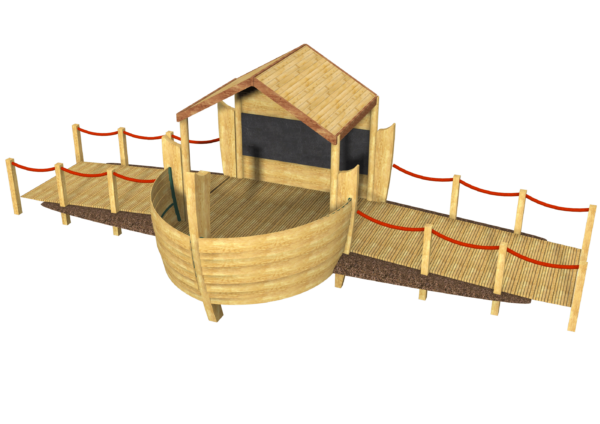 inclusive playground role play boat equipment