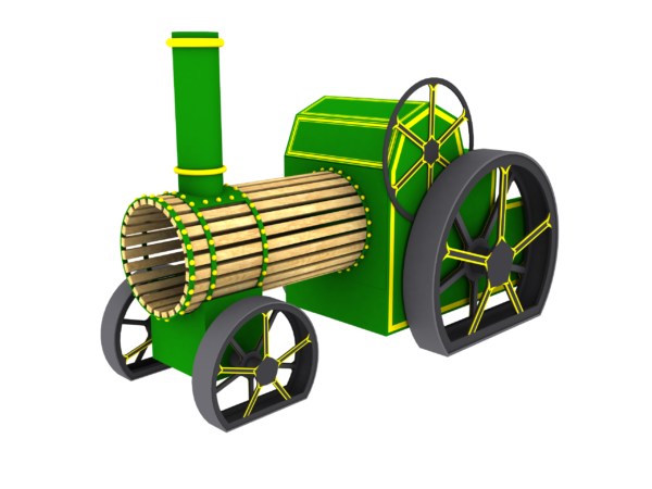 playground steam engine