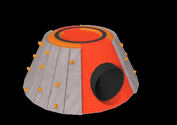bespoke playground volcano