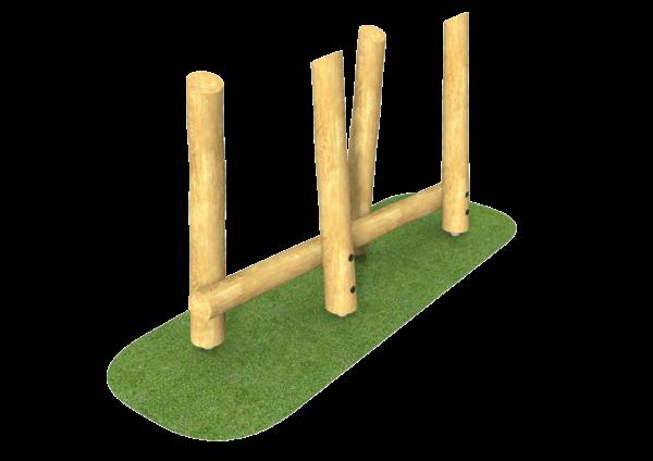 balance weaving poles