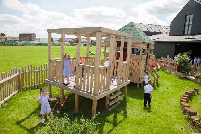 Newcomen Primary school playground