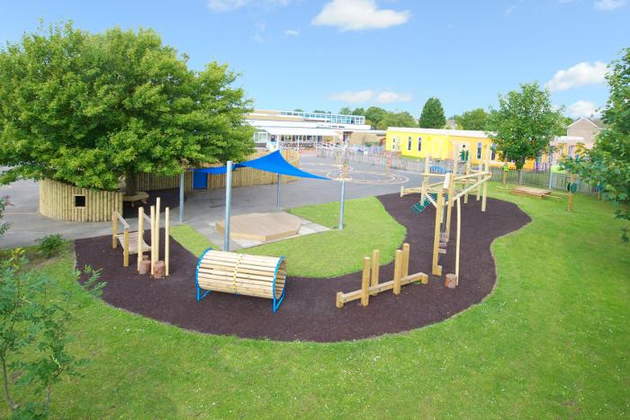 clean playground adventure trail