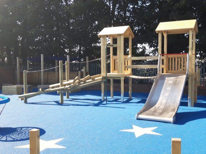 Bespoke SEN Playground for Bramley Park Academy