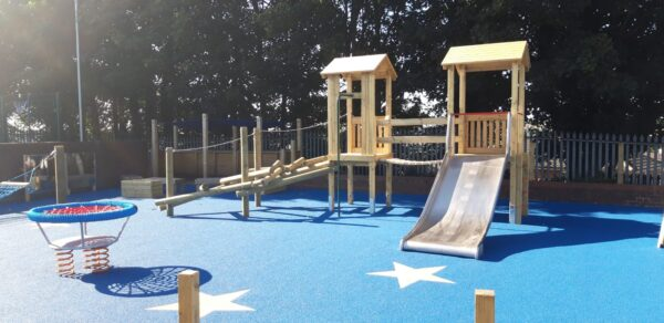 SEN playground for Bramley Park Academy