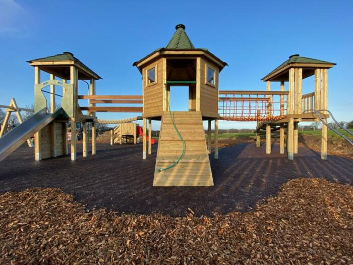 Beacon Farm Caravan Park Playground tower system