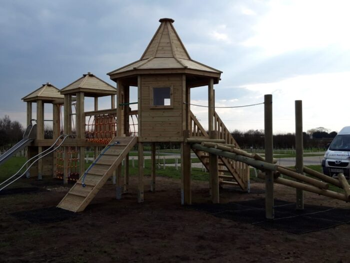 South Otterington Caravan Park playground tower system