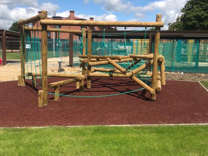 Climbing frame housing development playground equipment