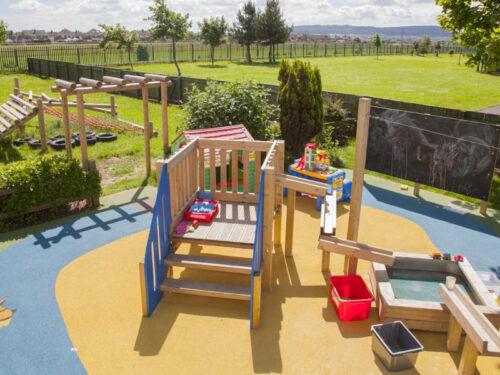 Lakes Primary School playground