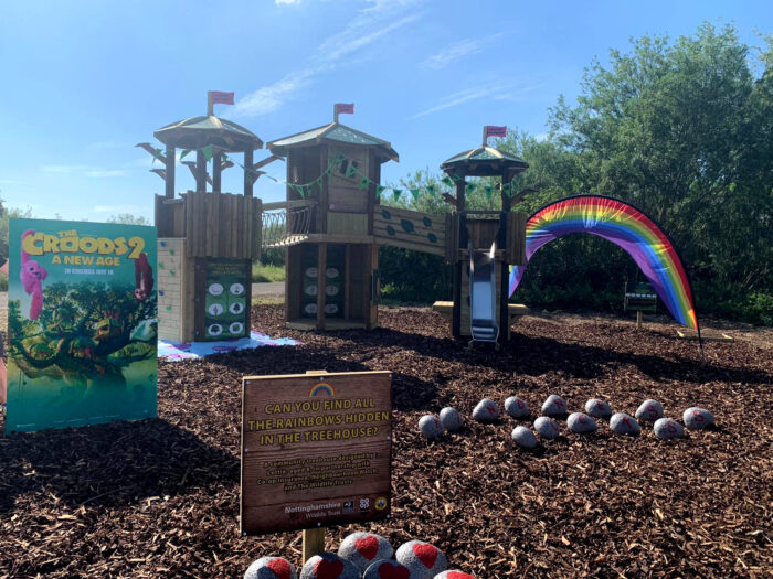 Croods 2 treehouse playground opening